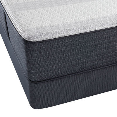 Simmons Beautyrest Platinum Latimer Extra Firm Tight-Top Hybrid Mattress + Box Spring