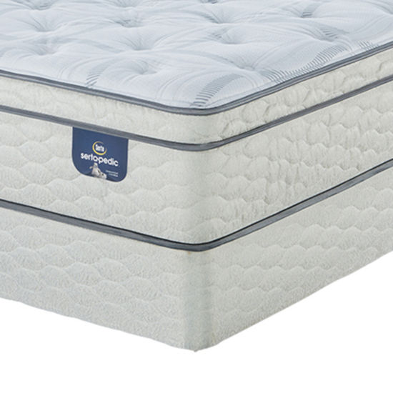 Serta Sertapedic Lawrenceville Euro Top Mattress Box Spring Jcpenney