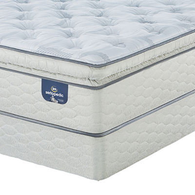Serta® Sertapedic® Lawrenceville Super Pillowtop Plush - Mattress + Box Spring