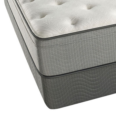 Beautyrest® Carling Plush Eurotop Mattress + Box Springs