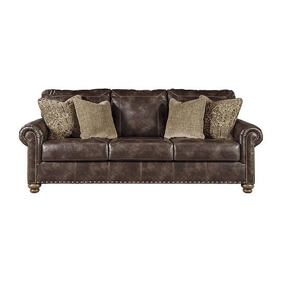 Signature Design by Ashley® Nicorvo Roll-Arm Sofa