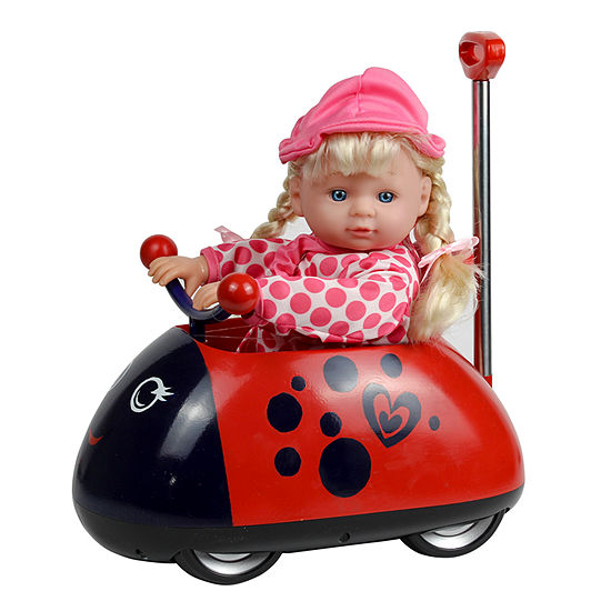 Kid Concepts Baby Doll My First Ladybug Ride On