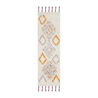 Safavieh Casablanca Collection Sybella Geometric Runner Rug