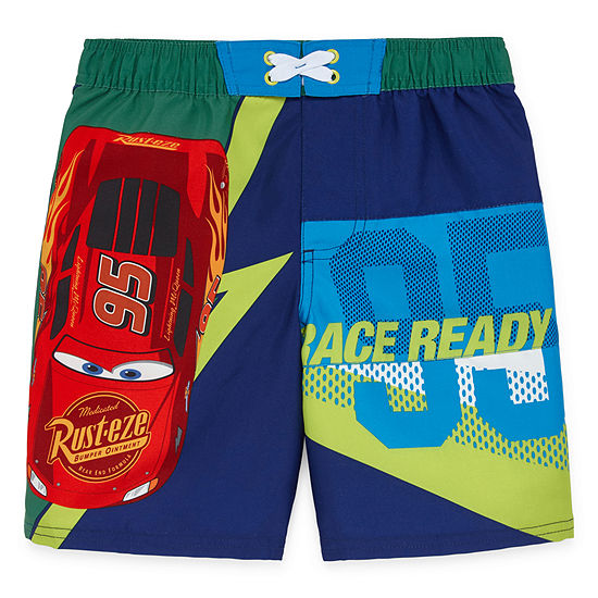 Disney Boys Cars Swim Trunks