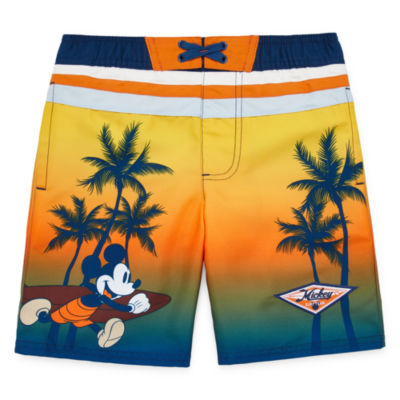 Disney Boys Mickey Mouse Swim Trunks