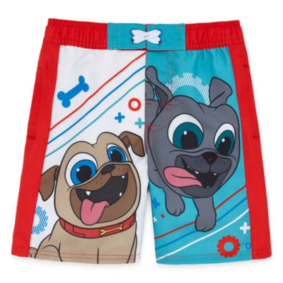 Disney Puppy Dog Pals Swim Trunks Boys