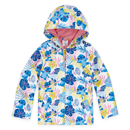 360e27c20 Disney Girls Water Resistant Lightweight Raincoat Preschool   Big ...
