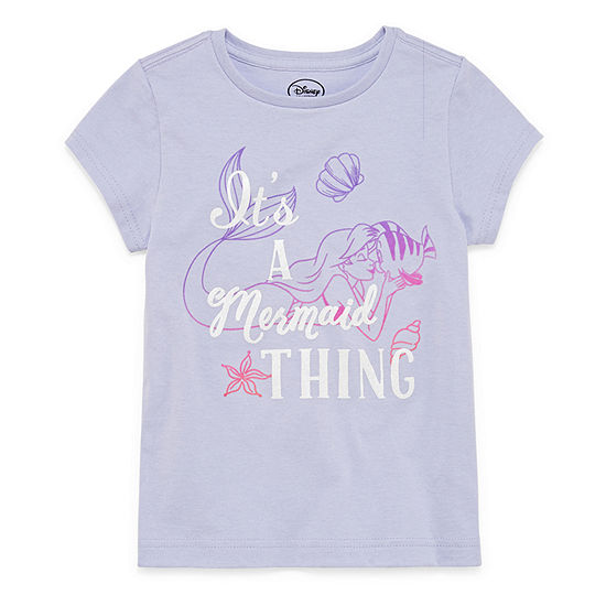 Disney The Little Mermaid Short Sleeve T-Shirt
