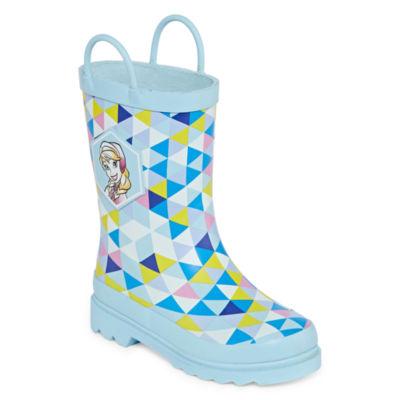 Disney Little Kids-Girls Frozen Rain Boots