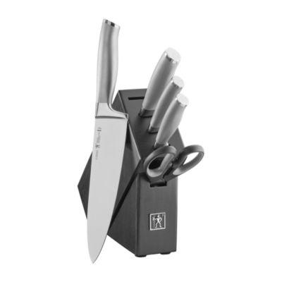 J.A. Henckels International Modernist 6-Pc. Block Set 6-pc. Knife Block Set