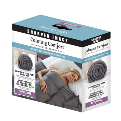 As Seen On TV Calming Comfort Weighted Blanket 15 lbs