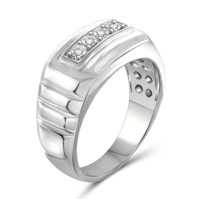 Mens 1/4 CT. T.W. Round White Diamond 10K