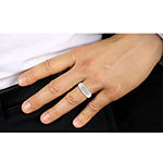 Mens 1/2 CT. T.W. Genuine White Diamond 10K Gold Fashion Ring
