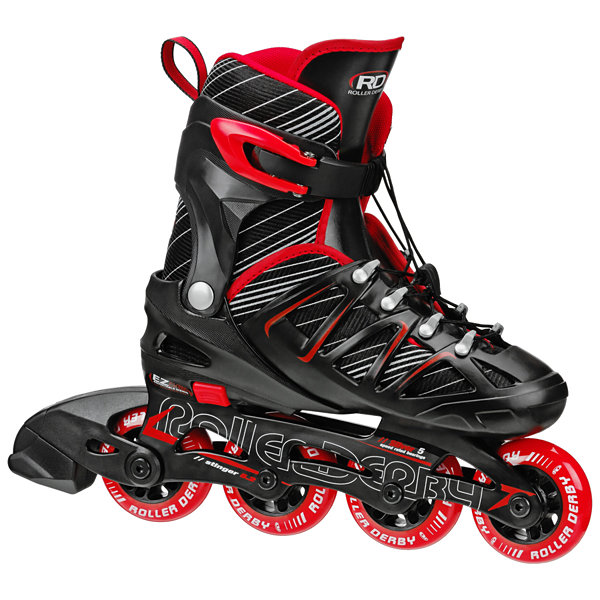 Roller Derby Stinger 5.2 Adjustable Inline Roller Blades