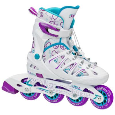 Roller Derby Stinger 5.2 Adjustable Inline Skates - Girls