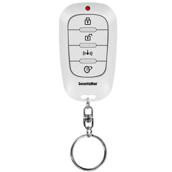 Securityman Keychain Remote For Iwatchalarmd Security System