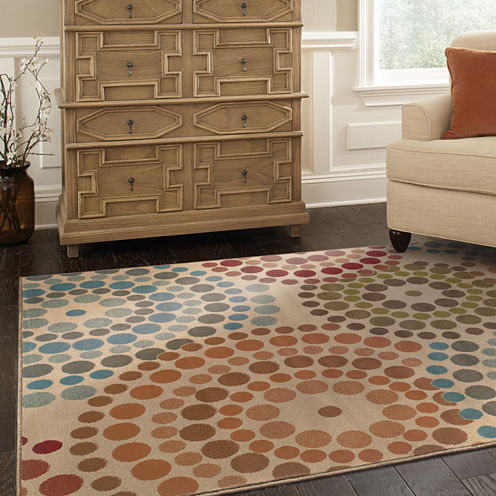 Covington Home Color Wheel Rectangular Rug