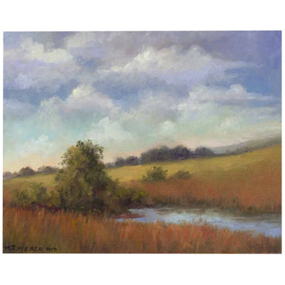 September Fields Canvas Wall Art
