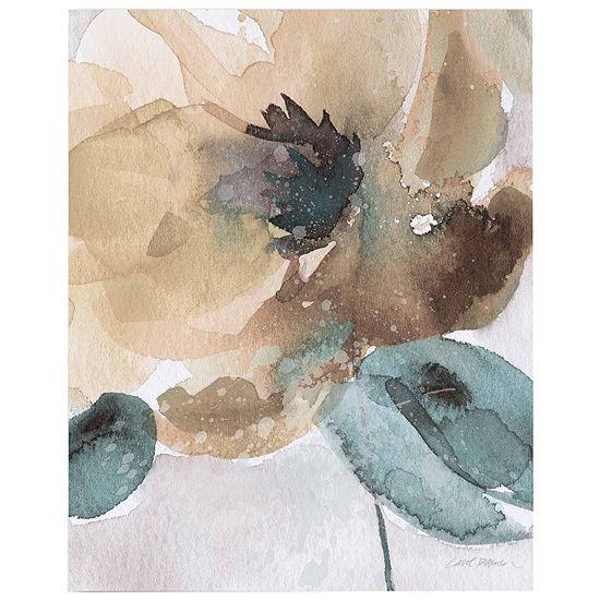 Watercolor Flower Bloom II  Canvas Wall Art