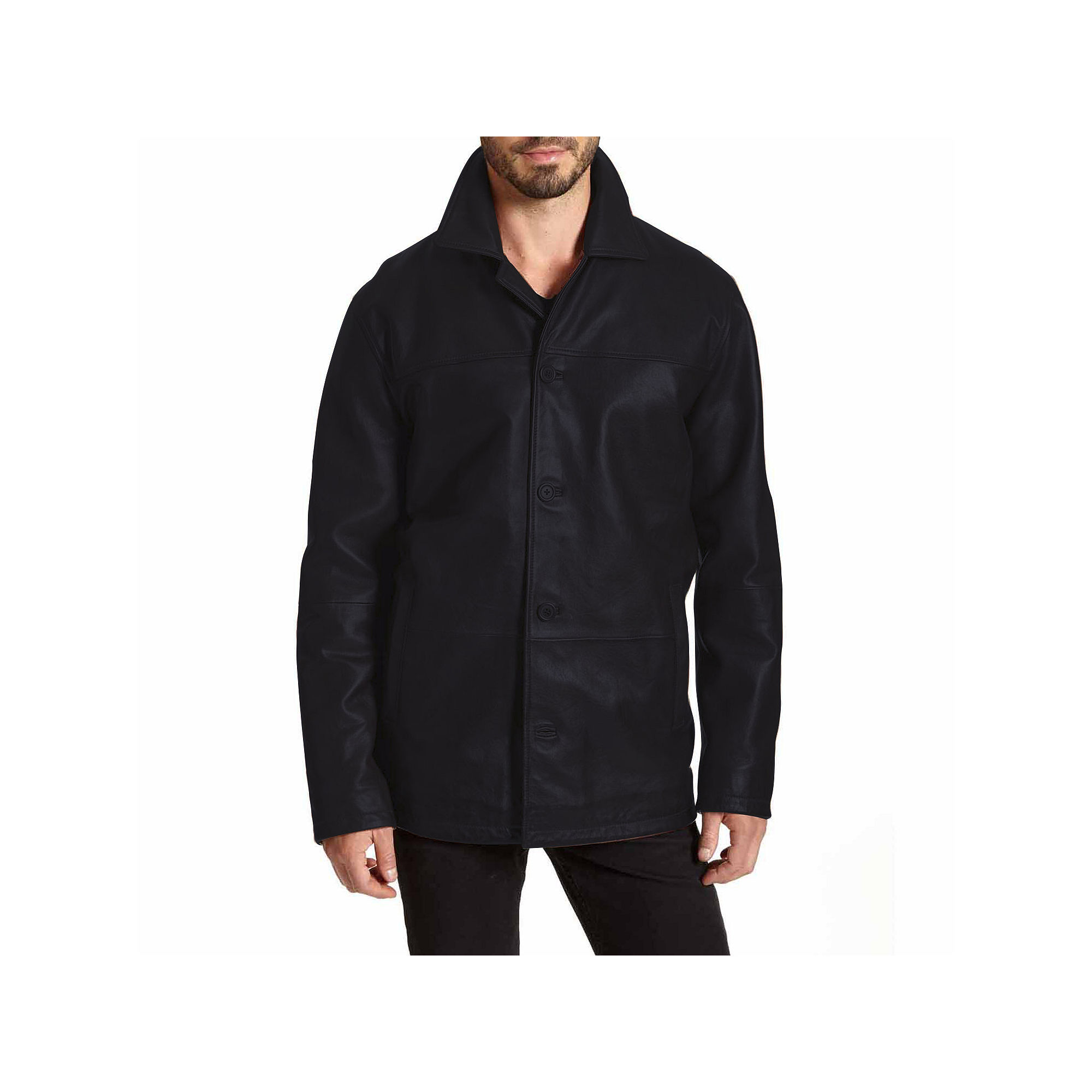 Excelled Lambskin Car Coat plus size,  plus size fashion plus size appare
