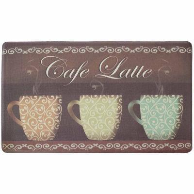 Chef Gear Cafe Latte Anti-Fatigue Gelness ComfortKitchen Mat