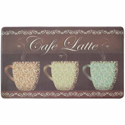 Chef Gear Café Latte Anti-Fatigue Gelness ComfortKitchen Mat