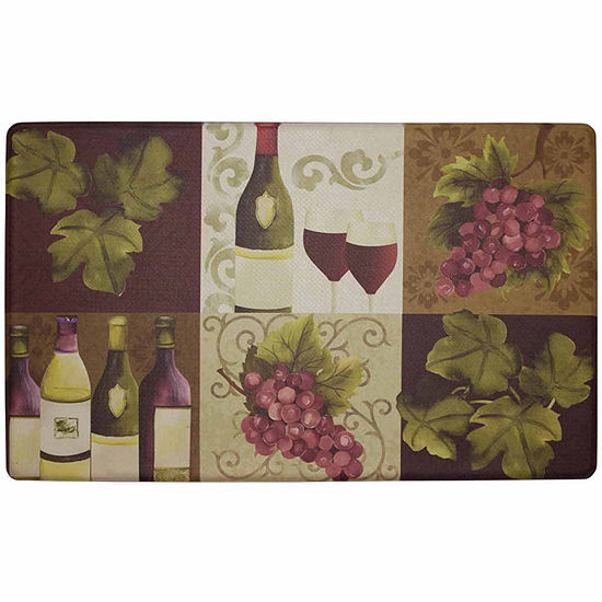 Chef Gear Wellness Wine Anti-Fatigue Gelness Comfort Kitchen Mat
