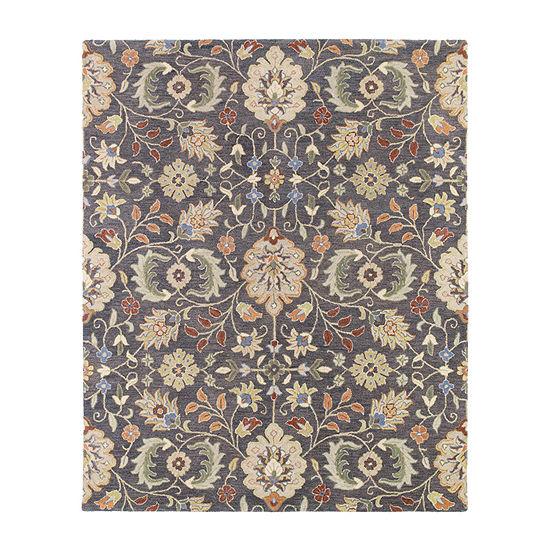 Kaleen Helena Meadow Hand-Tufted Wool Rectangular  Rugs