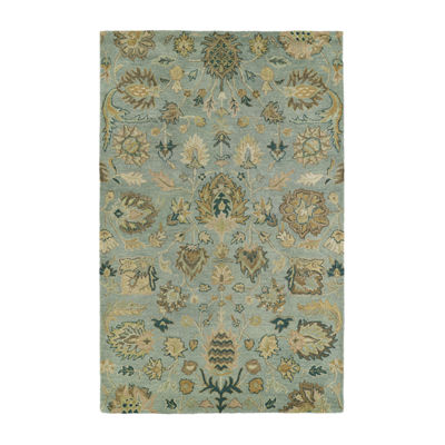 Kaleen Helena Troy Hand-Tufted Wool Rectangular Rug