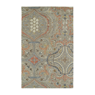 Kaleen Helena Transitional Hand-Tufted Wool Rectangular Rug