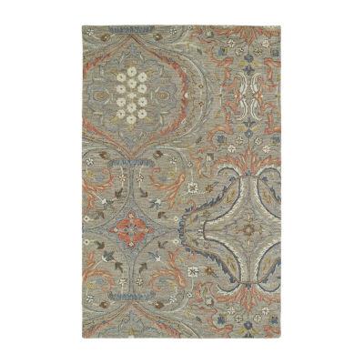 Kaleen Helena Transitional Hand-Tufted Wool Rectangular Rug