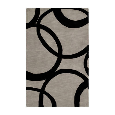 Kaleen Astronomy Gamma Hand-Tufted Wool Rectangular Rug