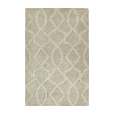 Kaleen Astronomy Galileo Hand-Tufted Wool Rectangular Rug