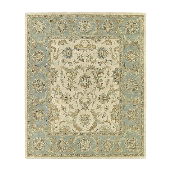 Kaleen Solomon King David Hand-Tufted Wool Rectangular Rug