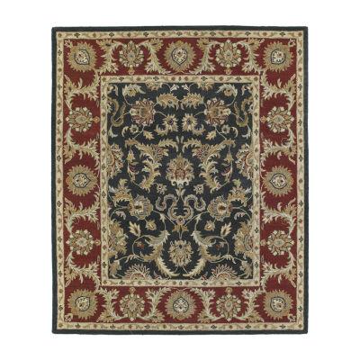 Kaleen Solomon King David Hand-Tufted Wool Rectangular Rug