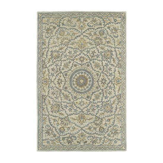 Kaleen Solomon Nehemiah Hand-Tufted Wool Rectangular Rug
