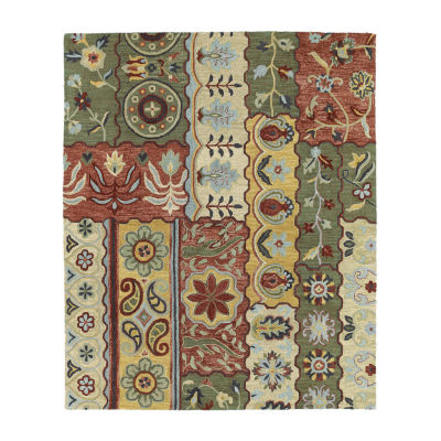 Kaleen Brooklyn Lizbeth Hand-Tufted Wool Rectangular Rug
