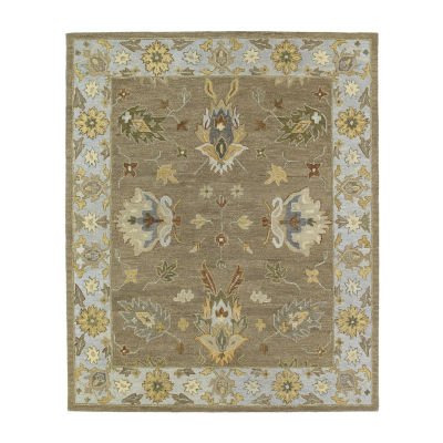 Kaleen Brooklyn Delaney Hand-Tufted Wool Rectangular Rug