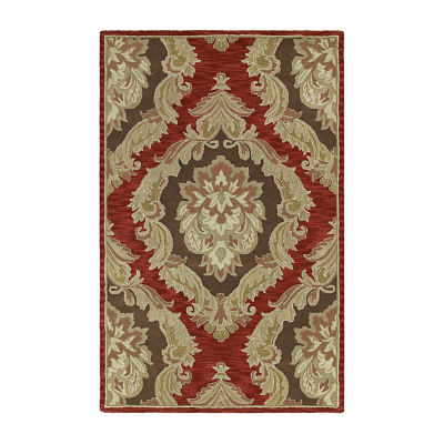 Kaleen Khazana Castilian Hand-Tufted Wool Rectangular Rug