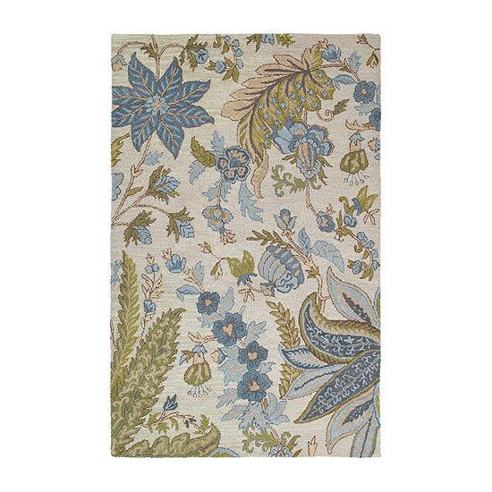 Kaleen Khazana Bali Hand-Tufted Wool Rectangular Rug