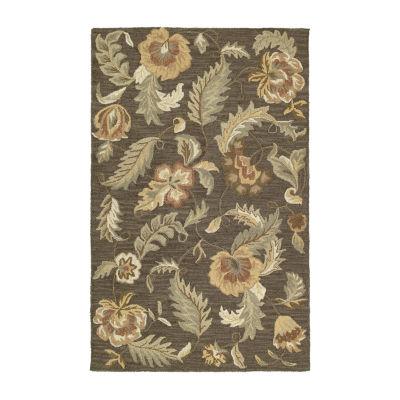 Kaleen Khazana Lawrence Hand-Tufted Wool Rectangular Rug