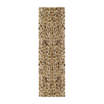 Kaleen Khazana Animal Print Hand-Tufted Wool Rectangular Rug