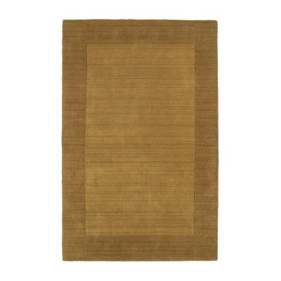 Kaleen Regency Solid Hand-Tufted Wool RectangularRug