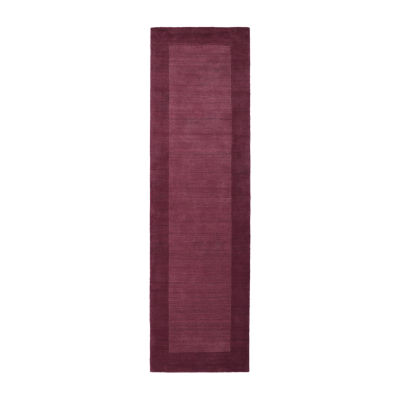 Kaleen Regency Solid Hand-Tufted Wool Rectangular Rug