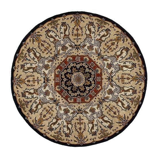 Kaleen Tara Rounds Henri Hand-Tufted Wool Round Rug
