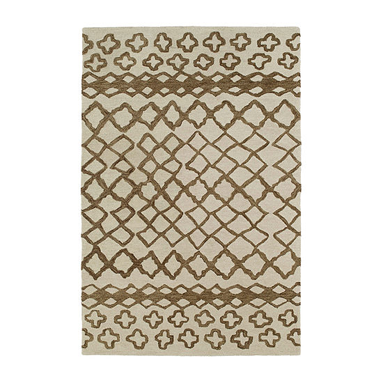 Kaleen Casablanca Moroccan Hand Tufted Wool Rectangular Rug