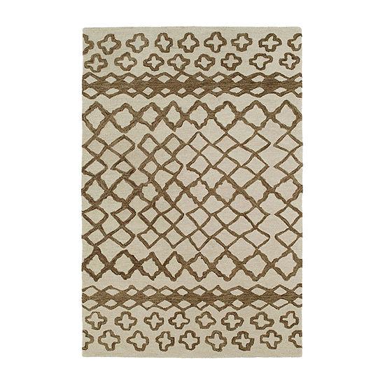 Kaleen Casablanca Moroccan Hand-Tufted Wool Rectangular Rug