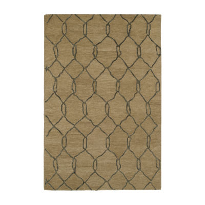 Kaleen Casablanca Trellis Hand-Tufted Wool Rectangular Rug