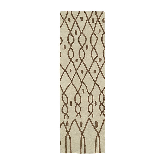 Kaleen Casablanca Chain Hand-Tufted Wool Rectangular Rug