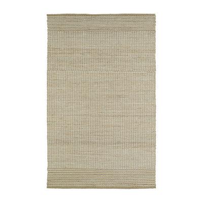 Kaleen Colinas Two-Tone Reversible Wool Jute Rectangular Rug